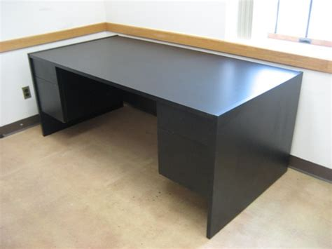 Black Desk Office Contemporary Office Desks Item Imtl384 Black Office