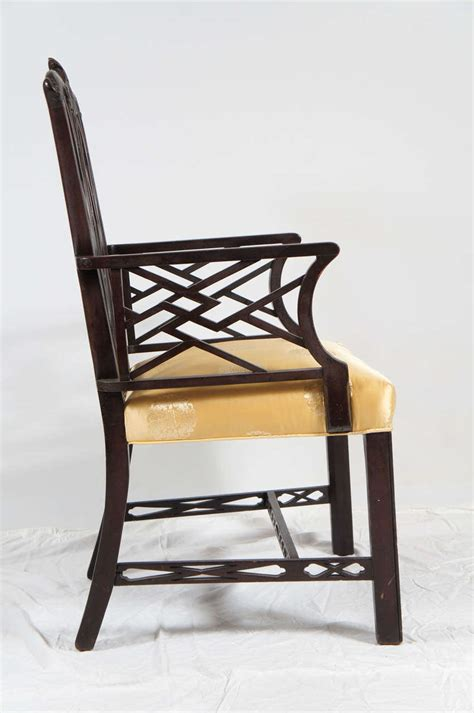 chinese chippendale chair chinese chippendale style arm chair for sale at 1stdibs