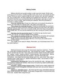 prosedur teks tentang lingkungan dalam bahasa inggris contoh teks