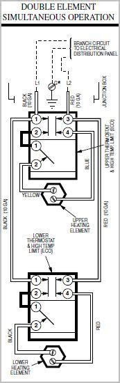 water heater thermostat wiring diagram get free