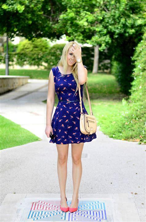 Zara Flamingo Dress anat koren oasis dress aldo bag zara heels flamingo
