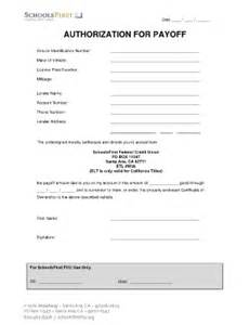 Esign Online authorization for payoff fill online printable