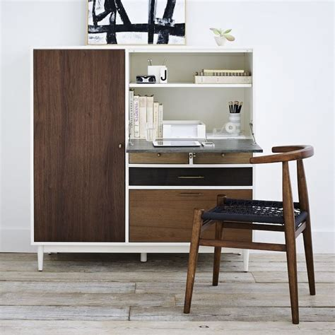 West Elm Patchwork Armoire - patchwork contemporary desks and hutches