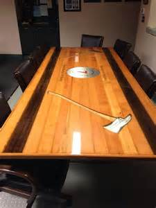 Firehouse Kitchen Tables Whatcom County District 7 46s House Original Wood Hose Bed From Pumper Bought By