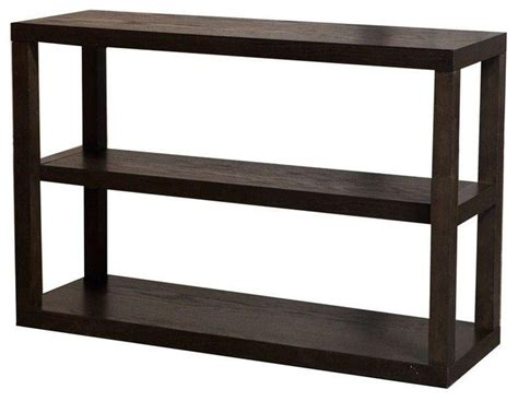 west elm low parsons bookshelf in chocolate 379 est