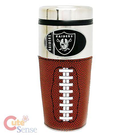 NFL Oakland Raiders Coffee Mug /Travel Tumbler Cup