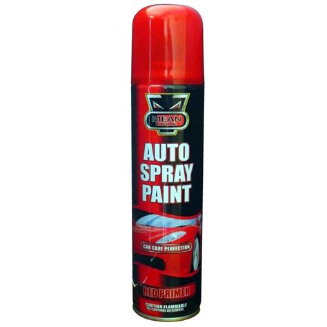 Auto Spray Paint Can - auto car red primer spray paint all purpose diy interior exterior aerosol can ebay