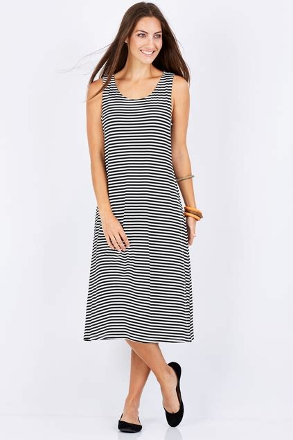 60241 Dresa Tunic Donita cordelia st stripe tank dress womens calf length dresses at birdsnest fashion