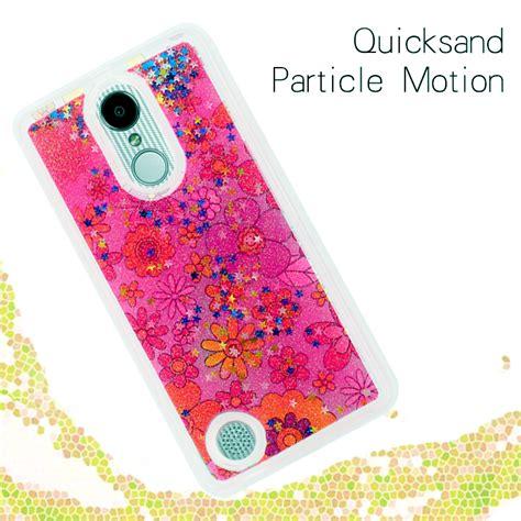 Hardcase Sparkle Glitter Water for lg rebel 2 l58vl liquid moving glitter water design cover ebay