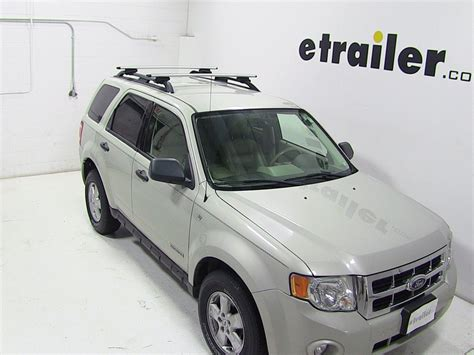 thule roof rack for 2012 escape by ford etrailer