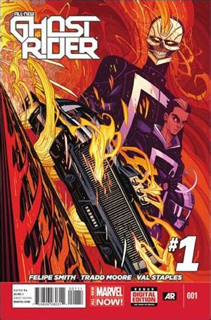Ac New Avrial Original Indo Shop all new ghost rider 1 a may 2014 comic book by marvel
