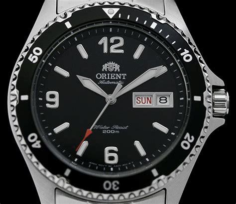 Orient Black 2 orient mako ii ii dive watches with new f6922 in