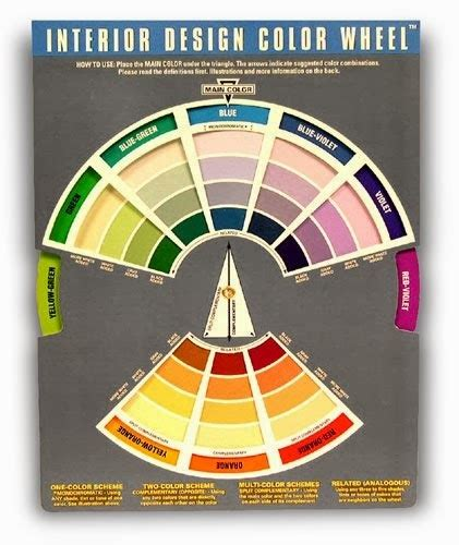 interior decor training services the color wheel uncle eddie s theory corner more on color wheels