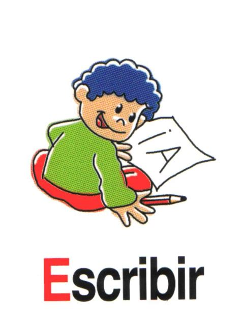 imagenes de ingles write escribir orientaci 243 n and 250 jar recursos educativos