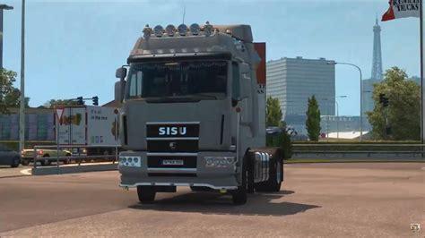 Truck Cabins by Sisu R500 C500 C600 Truck Cabin Accessories Dlc