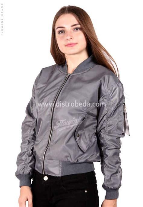 Jaket Boomber Cewe Jaket Bomber Bober Jaket Wanita jaket bomber wanita murah silver martin jaket muslimah distro beda
