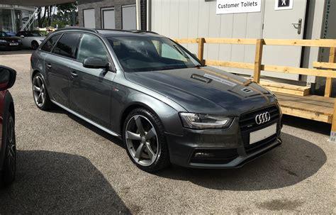 Audi A4 S Line Quattro by Audi A4 B8 Avant Tfsi Quattro S Line Black Edition 2013
