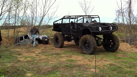 Jeep Ranch Brazos Valley Road Ranch Custom Rig Pulling Jeep