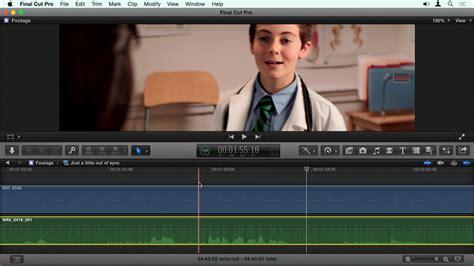 final cut pro audio sync final cut pro x guru sync sound workflow