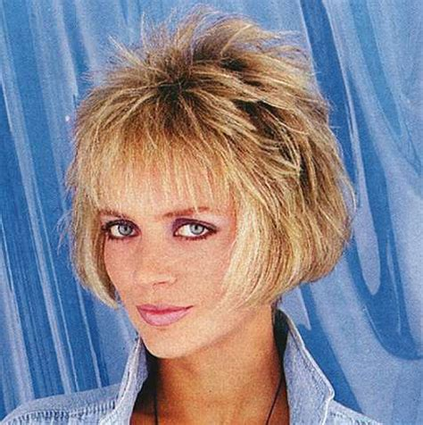 short 80 blown back hair styles women 80s hairstyle 86 amara flickr