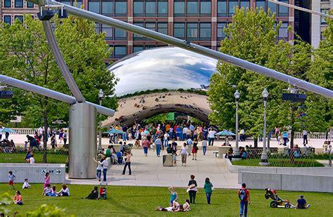 parks chicago millennium park in chicago illinois