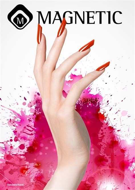 Nail Design Poster | nails by olexandra vlasiuk magnetic posters pinterest