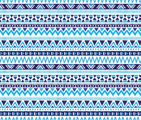 online aztec pattern maker aztec winter folkore geometric peru design blue fabric