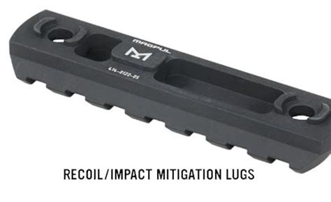 Magpul Rail Section by Magpul 7 Slot M Lok Aluminum Rail Section