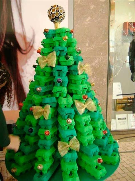 4h christmas tree from old egg carton 20 alternative trees my sweet things