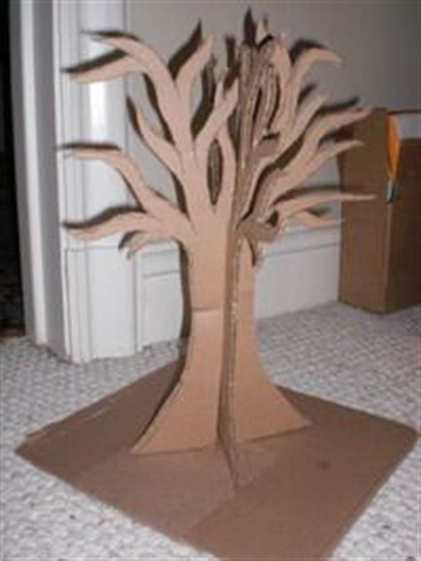How To Make A 3d Tree Out Of Paper - 17 best ideas about cardboard tree on paper