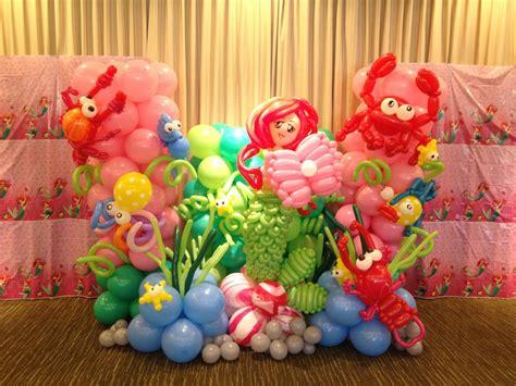 balloon decorations theme backdrop display sea birthday search balloon