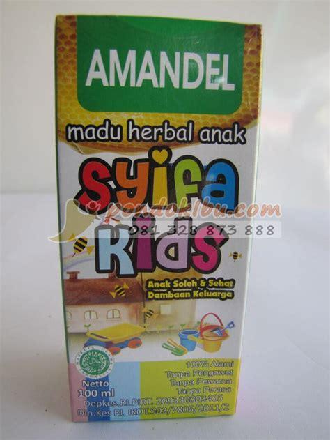 Syifa Amandel pengobatan tradisional untuk mengatasi amandel pada anak