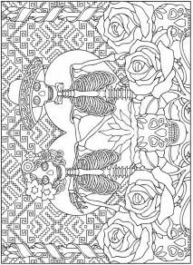 day of the dead coloring book welcome to dover publications