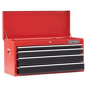 craftsman 41 quot 4 drawer heavy duty bearing top chest