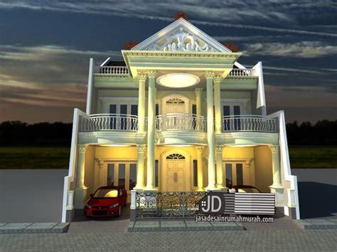 desain rumah eropa klasik bapak rama di jakarta jasa desain rumah murah jasa arsitek gambar