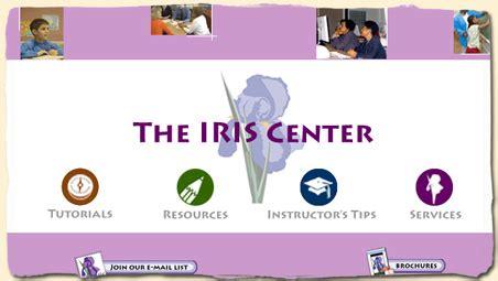 the iris center the iris center an amazing resource for classroom