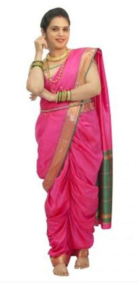 saree draping step by step how to wear a maharashtrian saree in 4 different types
