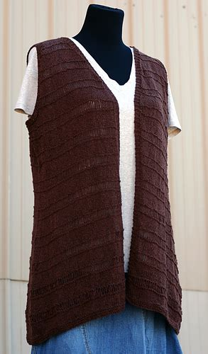 Vest Nadine ravelry nadine vest pattern by tamara moots