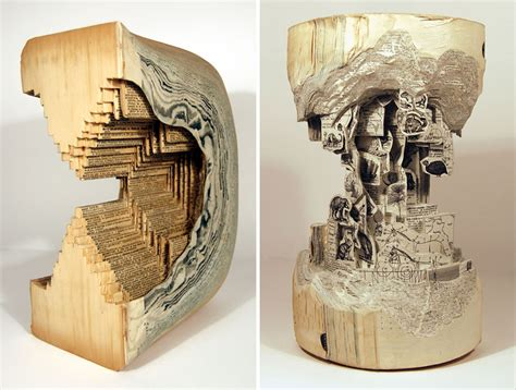 Make Paper Sculpture - book surgeon uses surgical tools to make book
