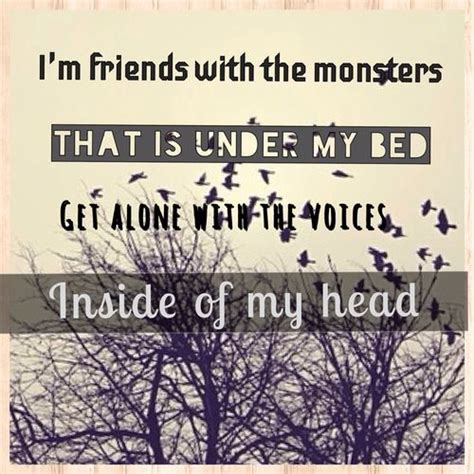 rihanna monster under my bed i m friends with monster that s under my bed get along