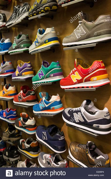 macys athletic shoes athletic shoe display in macy s s shoe department nyc
