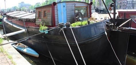 prijs ligplaats woonboot woonboot woonschip tjalk 20x4 85m zonder ligplaats