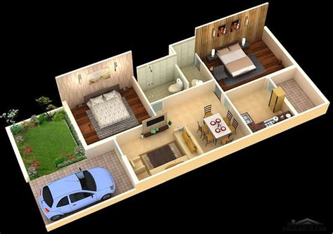 1 Floor House Plans by
