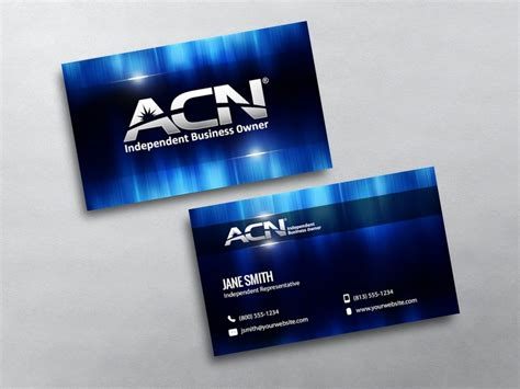 acn business cards templates acn business cards free shipping