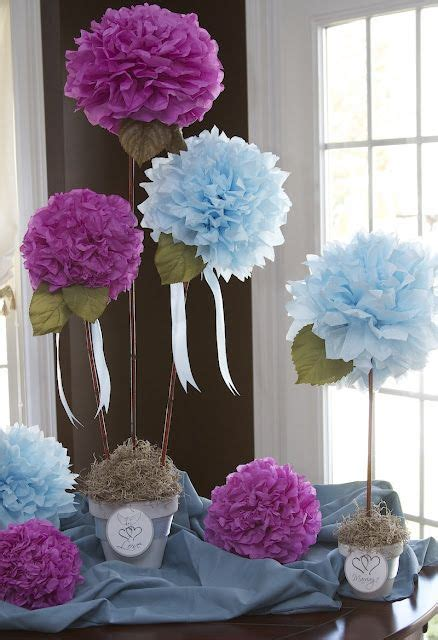 How To Make Mexican Decorations With Tissue Paper - 25 best ideas about tissue paper centerpieces on