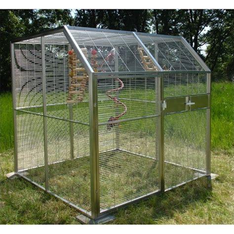 costruire gabbia uccelli voliera in acciaio modello 222 1 da animalmania it
