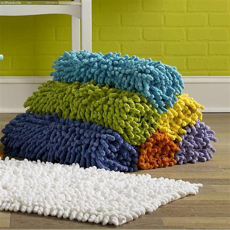chenille bathroom rugs bambini bath rugs by kassatex 100 cotton chenille rugs kassatex