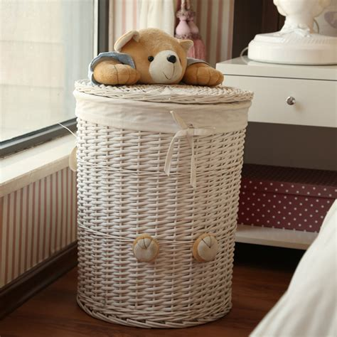 Wooden Hers For Laundry Wicker Laundry Her Corner Wicker Laundry Her With Lid Rattan Wicker Style Corner Laundry