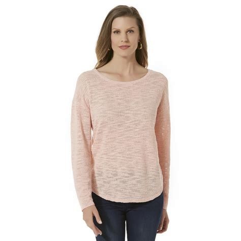 womens knit tops basic editions s knit top clothing shoes