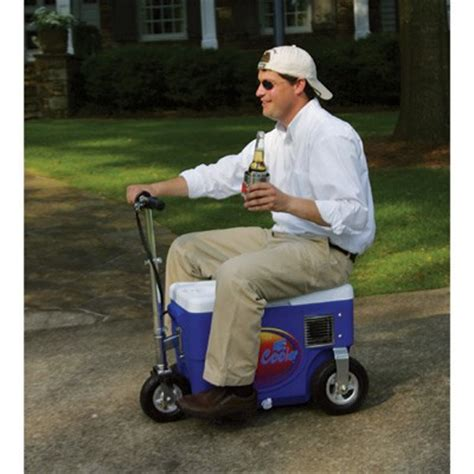motorized chest cooler scooter chest scooter cruzin cooler